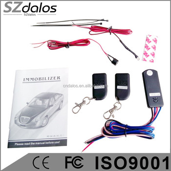2016 version ingles RFID 2.4 GHz inalambrico para coche inmovilizador Anti hijacking on y off inteligente Anti hijacking