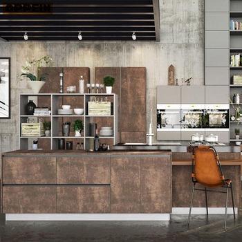Moderne Design Italien Toute L Ile En Bois Armoires De Cuisine