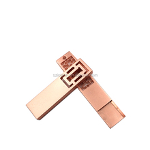 Promotional Products Rose Gold USB Drive Metal USB Flash Drive