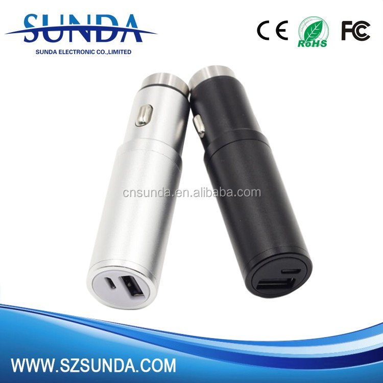2 in 1 3 function 12 volt battery power bank
