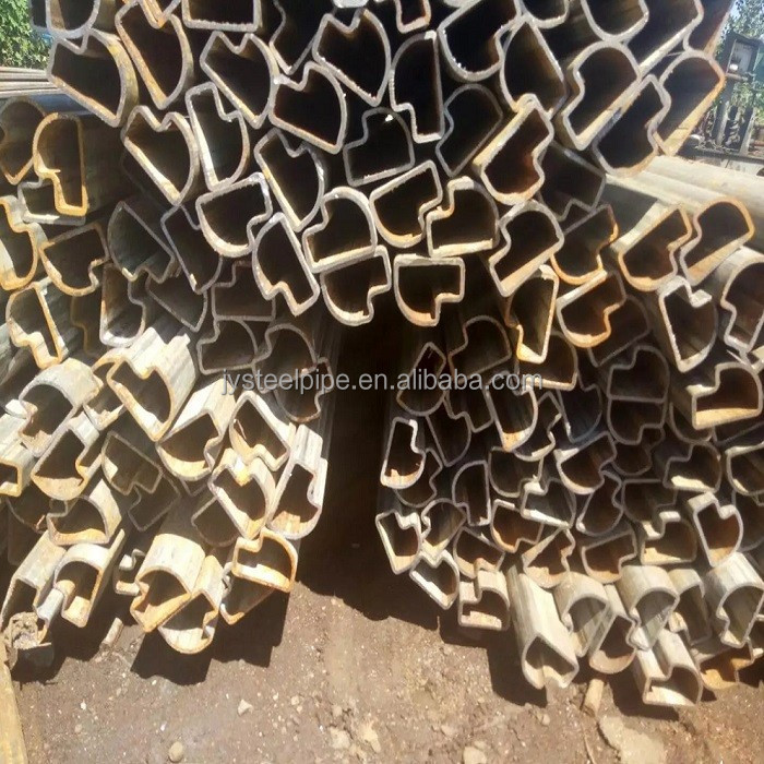 st42-2 seamless welded steel pipe special shaped steel pipes tubes