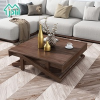 Modern design wooden coffee table tea table living room furniture