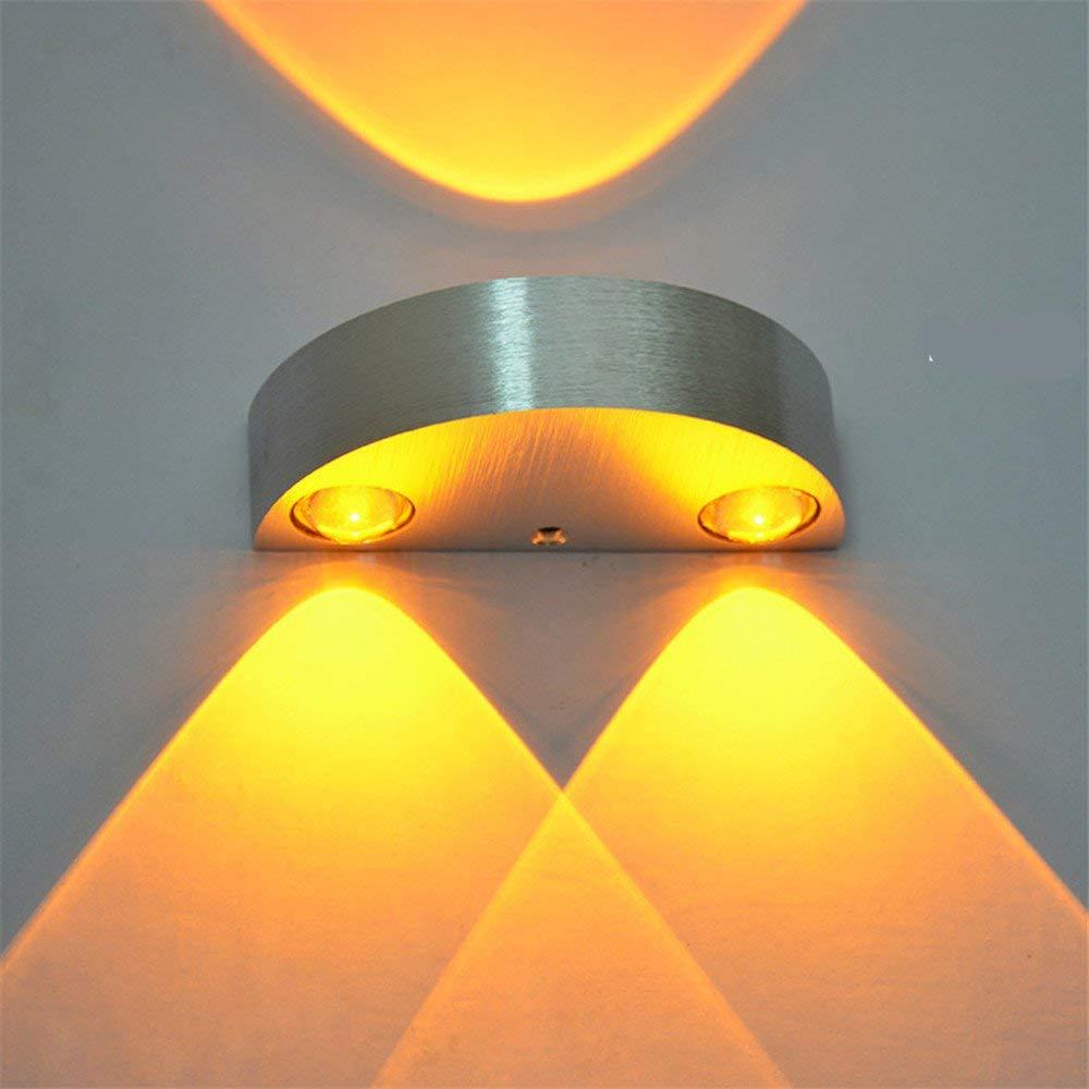 Led wall lamp modern minimalist european style wall lamp bedside lamp U-shaped lights decoration light 3W Wall lights ,3W Woodruff - Warm White