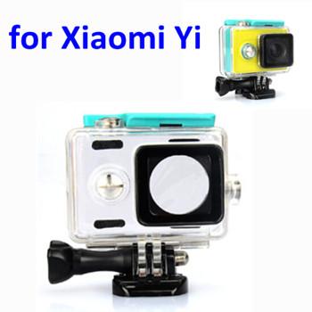 Original Waterproof Xiaomi Xiaoyi Sports Action Camera Case Xiaomi Yi Waterproof Case MI YI Box for Xiaomi Yi Camera Accessories