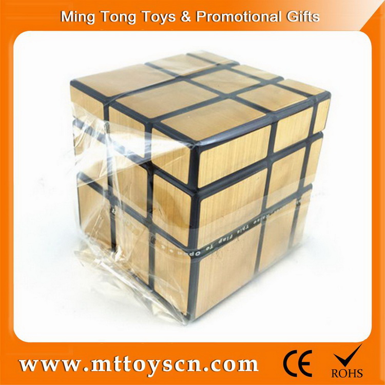 promotional ABS plastic 5.7CM mirror magic cube 3x3x3