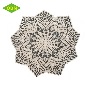 Crochet Round Shape Dining Table Mat - Buy Dining Table Mat,Crochet Dining  Table Mat,Round Shape Dining Table Mat Product on Alibaba com