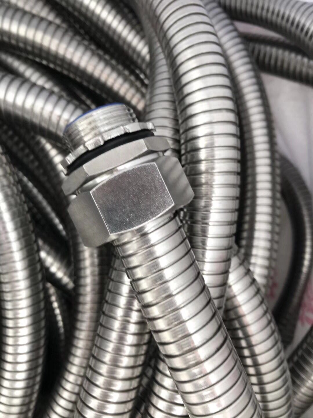 High Pressure Stainless Steel Helical Hose