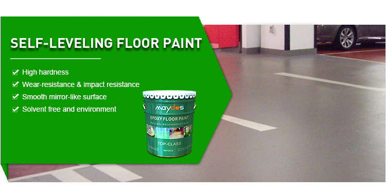 Maydos Self-leveling High Solid Content Epoxy Floor Resin for Warehouse