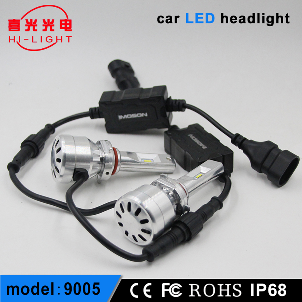 2017 New Led Car HeadlightAuto PartsLed Headlight Bulbs 9005 H11