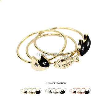 Ring In Kaars.Fashion Gold New Design Cat Ears Ring Wholesale A 1156 Buy