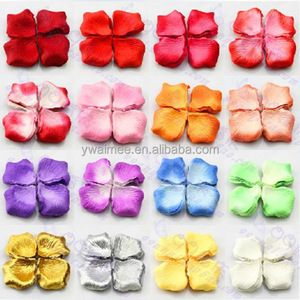 Yiwu Aimee supply velvet flower petals for scrapbooking, soft petal flower(AM-FP-07)