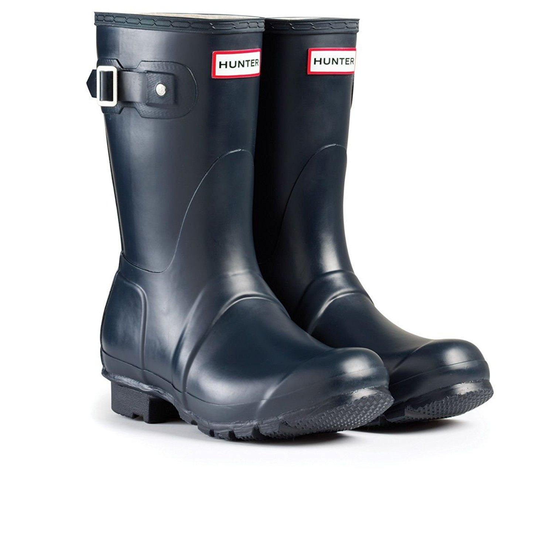 Women's Hunter Boots Original Short Snow Rain Boots Water Boots Unisex 5-10