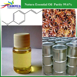 Wholesale Natura Essential Oil CAS 104-46-1 Purity 99.6% Anethole for flavour/fragrance/perfume