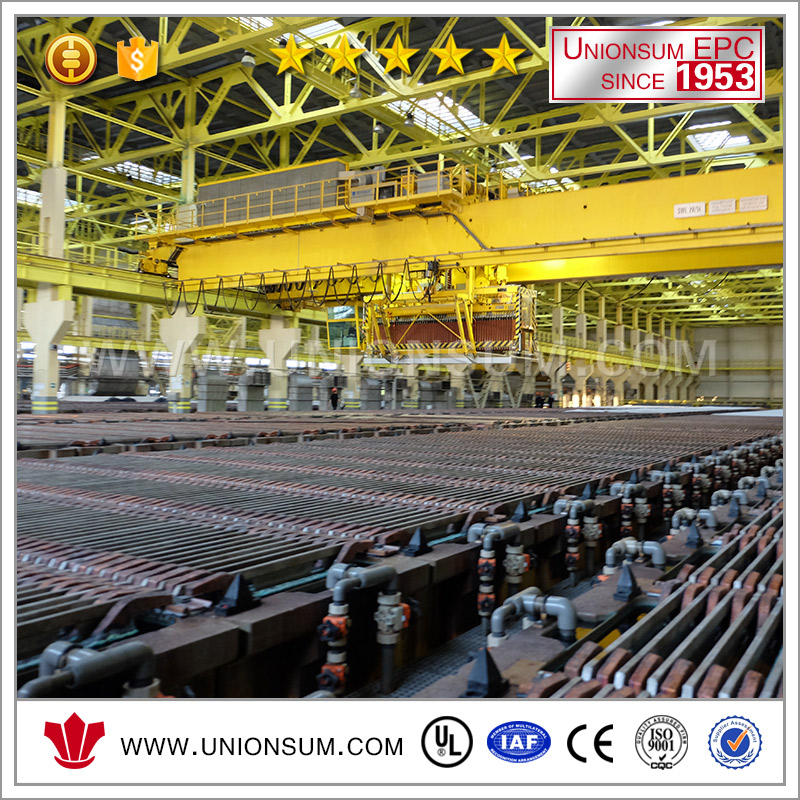 China Turnkey Service Copper Ore Recovery Copper Cathode 9999% Production Line