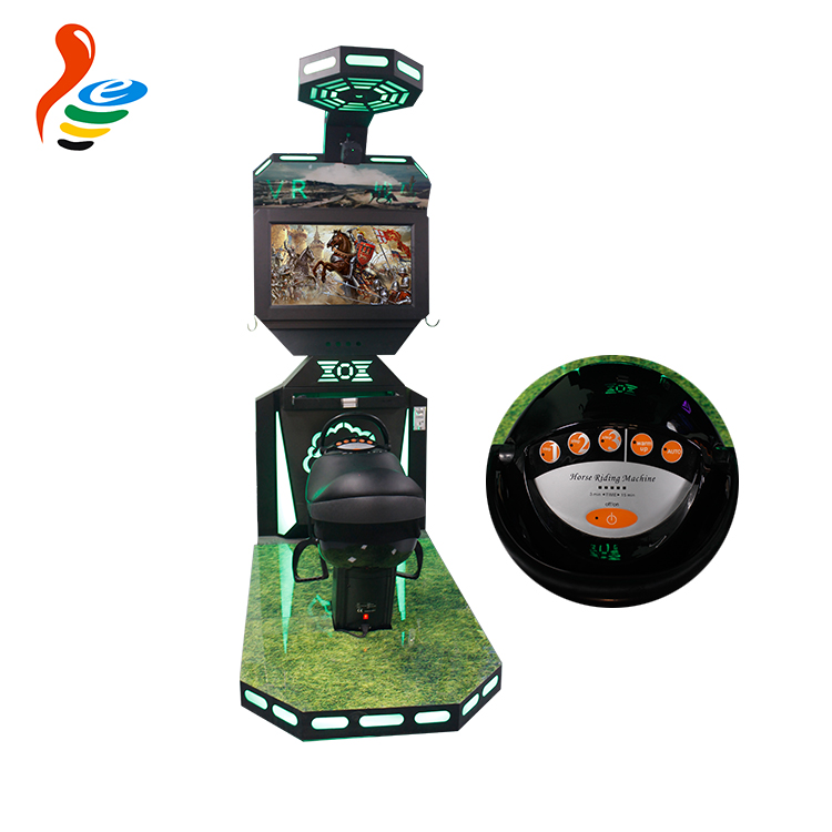 New arrival arcade games machines Horse Riding vr simulator with vr glasses