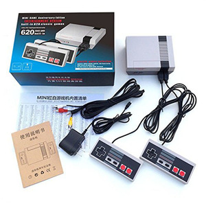 Retro Game Consoles Built-in 620 TV Video Game With Dual Controllers
