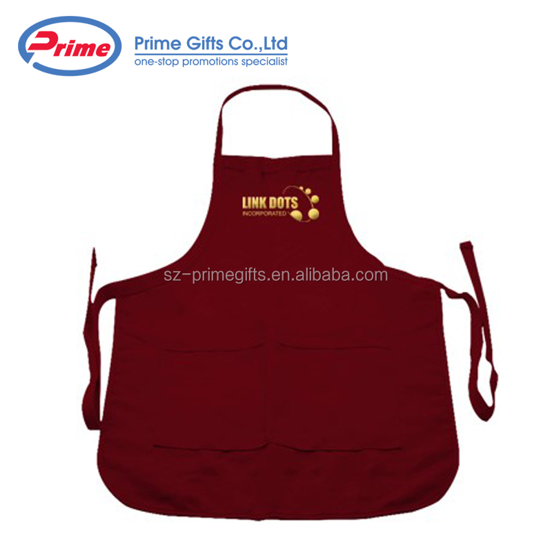Hot Sale Chef Cooking Apron with Logo Printed
