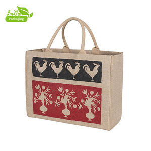 Factory Custom Recycled Cheap Shopping Bag Picture Of Jute Bag