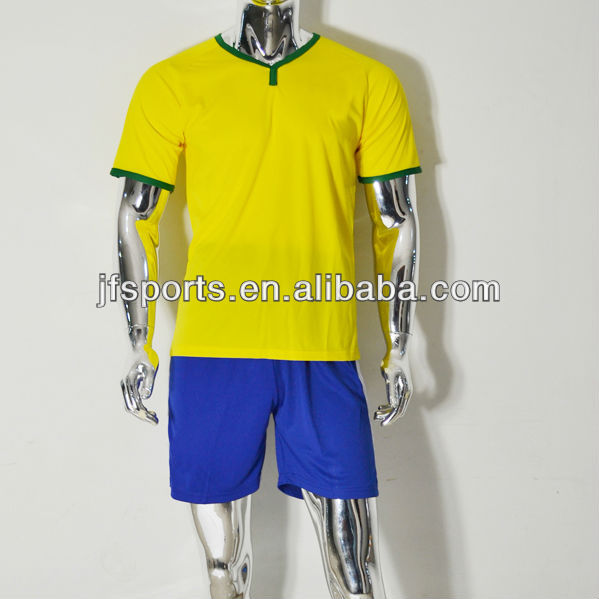 2014 Newest Style Soccer Uniform,Wholesale Soccer Jersey And Shorts