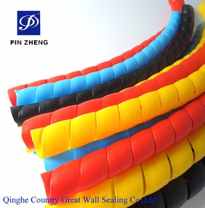 16mm plastic tube sleeves /pressure water pipe spiral protection