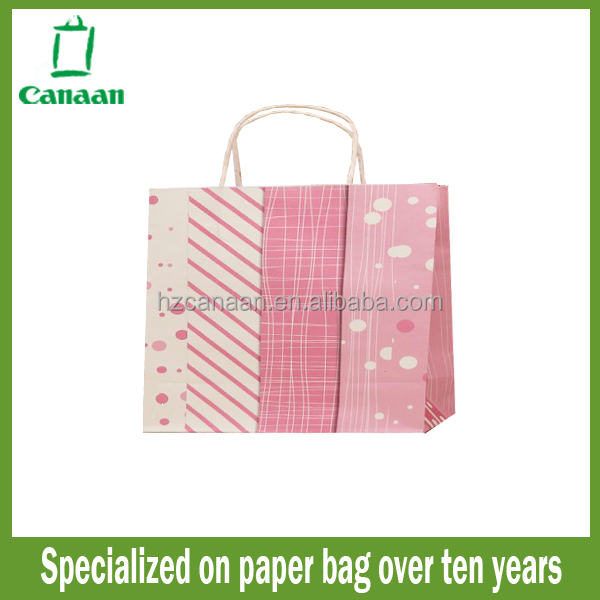 Design hot sell kraft paper bag template