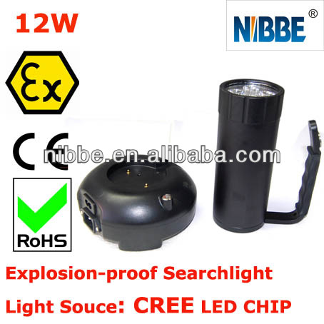 atex portable led explosion proof search light