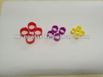 colorful plastic poultry leg ring pigeon leg ring