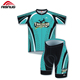Outdoor Sports Short Sleeve Team Quick Dry Custom Cycling Jersey Sets