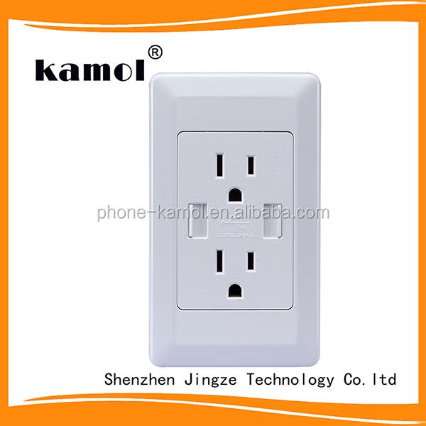 Us Canada Smart Zigbee Wifi Plug Power Socket Usb Outlet Charger ...