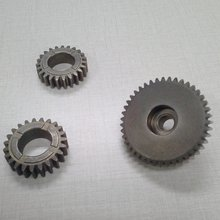 China factory cheap 12T metal PM sintered gears for paper shredder