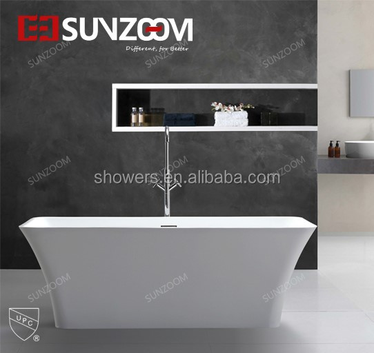 Sunzoom Hot Sale 70inch Door to Door Thermoforming Bathtub Divider