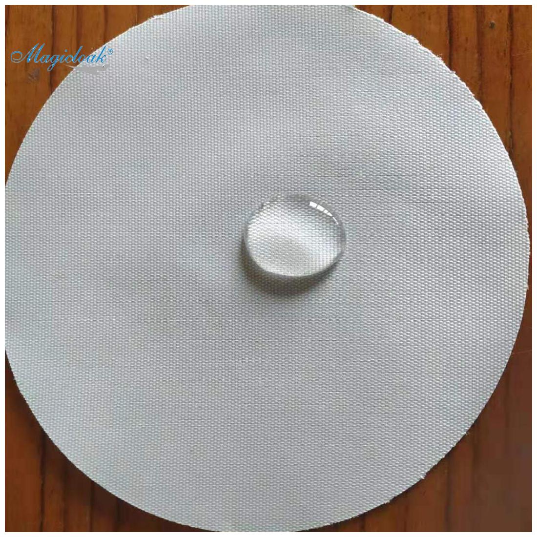 Tecidos técnicos e 100% poliéster 300D tampa do carro de tecido revestido de prata.