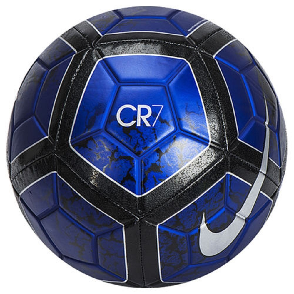 Nike 2016 CR7 Prestige Soccer Ball Football Blue Black SC3058-485 Size 5
