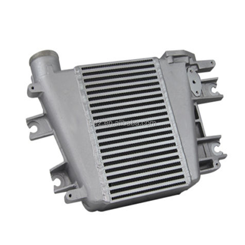top selling aluminum Intercooler Upgrade ForNissan Patrol GU Y61 ZD30 3.0L TD 97-07 01 02 03 04