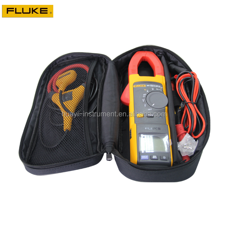 Remote control digital true RMS clamp meter fluke 381, original Fluke 381 handheld digital clamp meter