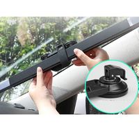 SW Factory Direct Retractable Car Sunshade Doctor Who Car Sun Shade Car Static Cling Sunshade