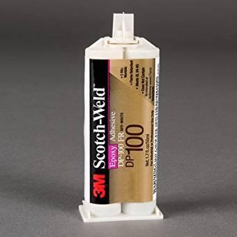 3M(TM) Scotch-Weld(TM) Epoxy Adhesive DP100 Clear, 50 mL, 12 per case