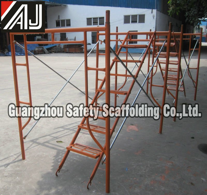 4047ace3dc1 Tubular Steel Horizontal Frame Scaffolding For Construction And Decoration  - Buy Horizontal Frame