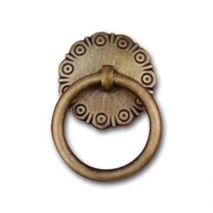 Beautify Design Antique Brass Bronze Gold Color Decorative Bedroom Drawer Dresser Ring Knobs C-0681