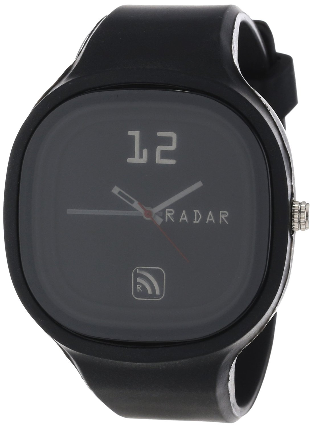 RADAR Watches Unisex AGBKM-0001 The Agent Interchangeable Silicone Analog Watch