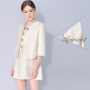 WA93120 2016 autumn sweet new women's jacket short-sleeved summer fragrance wind elegant Slim women outside coat
