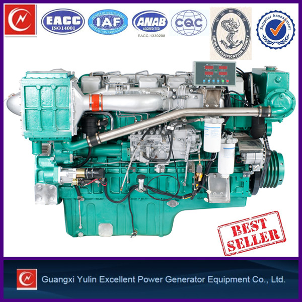 Durable 300-540hp marine engine save oil matched power all boat