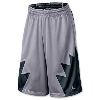 a69dd666a01 Get Quotations · Air Jordan Retro V (5) Men's Basketball Shorts Grey/Black  404386-025