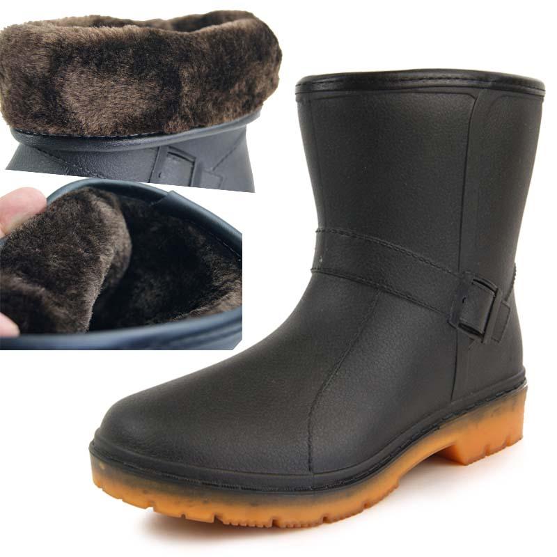Short Rain Boots For Men Boot Hto