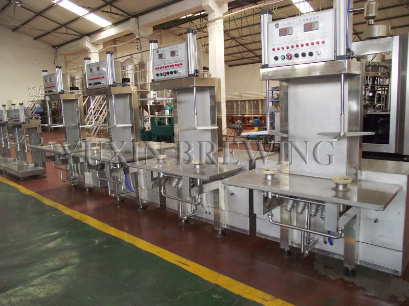 beer keg washing and filling machine for sale