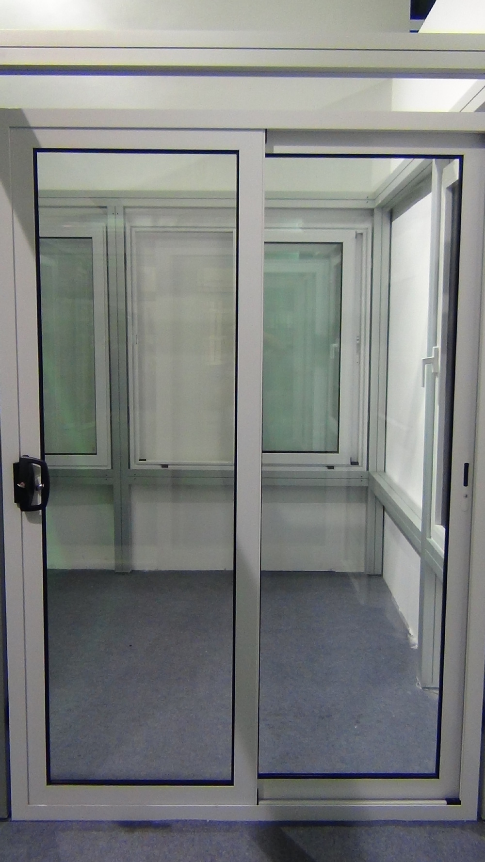 China manufacturers double glazed sliding glass door meet for Double pane sliding glass door