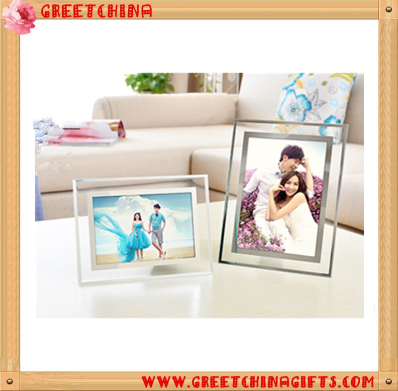 Glass picture photo frame