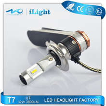 2017 hot style h7 led headlight bulb auto Fast Delivery