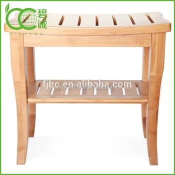 Fabriek Nieuwe Ontwerp Bamboe/houten Bad Krukken Douche Bench ...