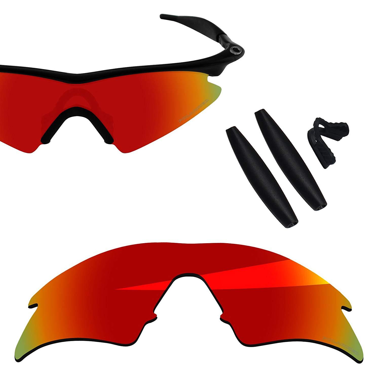 15d42ead0e BlazerBuck Anti-salt Polarized Replacement Lenses   Sock Kit for Oakley M  Frame Sweep